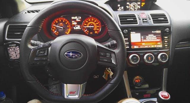 2017 Subaru Wrx Sti Interior Pictures Cargurus