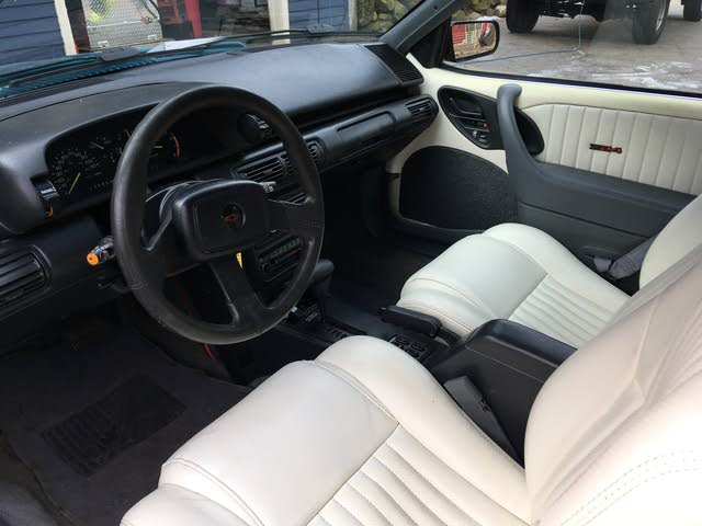 Picture of 1992 Chevrolet Cavalier Z24 Convertible FWD, interior, gallery_worthy