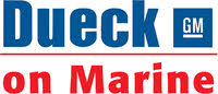 Dueck on Marine logo