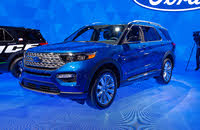 2020 Ford Explorer Picture Gallery