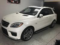 Foto de un 2012 Mercedes-Benz M-Class ML 63 AMG 4MATIC, exterior, gallery_worthy