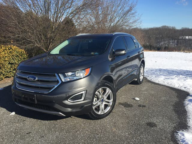Picture Of  Ford Edge Titanium Awd Exterior Gallery_worthy
