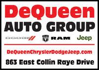 DeQueen Chrysler Jeep Dodge logo