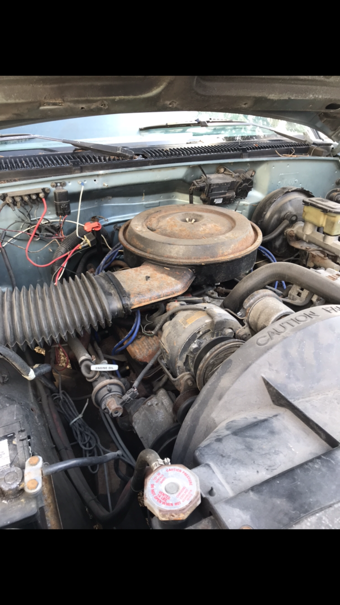 i have a 1989 c/k1500 chevy pickup with a low km engine  how difficult/  what would be something's to look into about swapping the