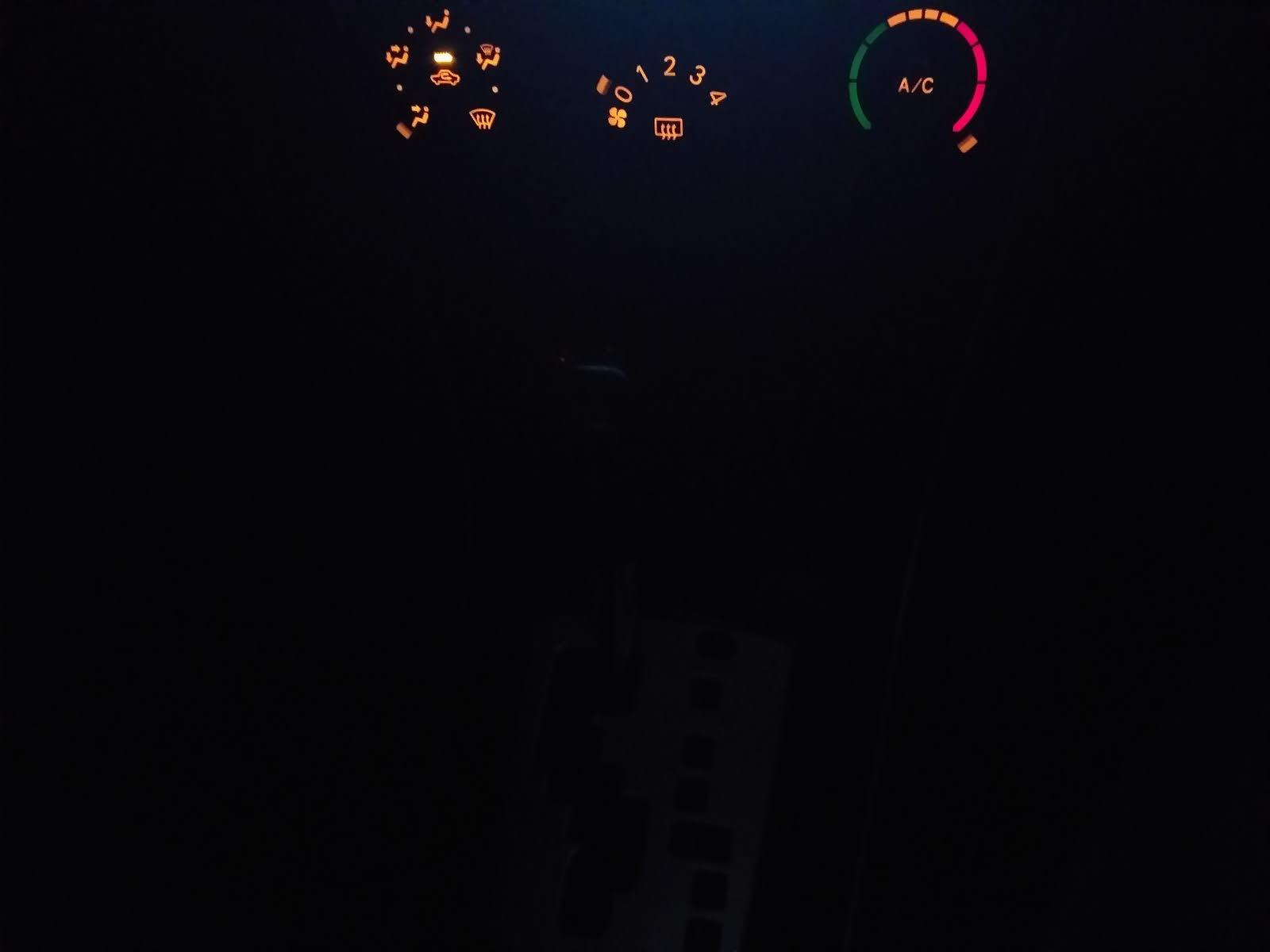 Toyota Corolla Questions - MY Toyota Gear Indicator lights