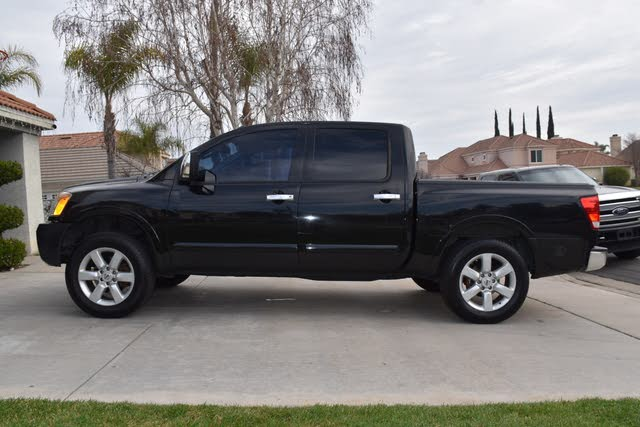 Picture of 2010 Nissan Titan LE Crew Cab, exterior, gallery_worthy