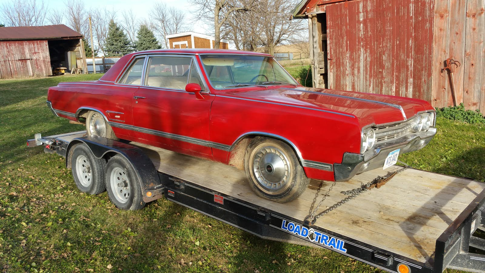 Oldsmobile 442 Questions - Have 1965 F85 Cutlass sport coupe