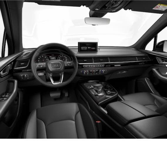 Audi Q7 Photos Interior: Interior Pictures