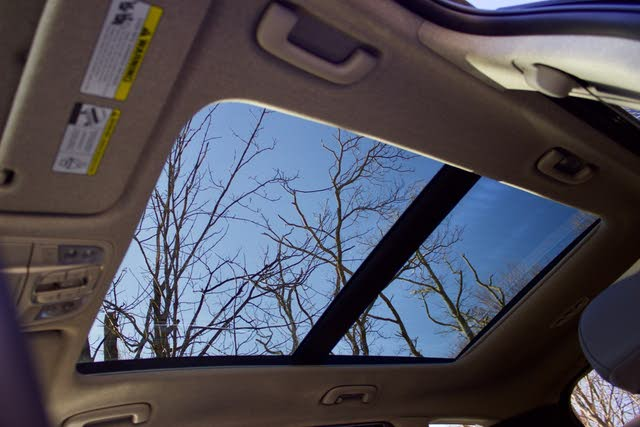 Panoramic moonroof of the 2019 Hyundai Santa Fe, interior, gallery_worthy