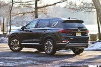 Rear 3/4 of the 2019 Hyundai Santa Fe, gallery_worthy