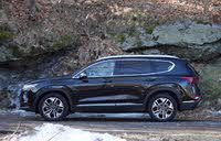 Side profile of the 2019 Hyundai Santa Fe, exterior, gallery_worthy