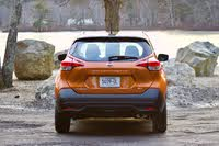 Rear profile of the 2019 Nissan Kicks, exterior, gallery_worthy