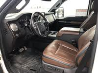 Picture of 2013 Ford F-450 Super Duty Platinum Crew Cab LB DRW 4WD, interior, gallery_worthy