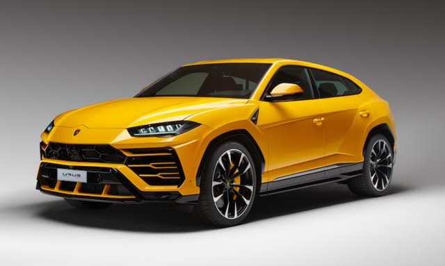2019 Lamborghini Urus front-quarter view