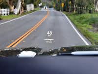 2019 GMC Sierra 1500 Denali Crew Cab 4WD, 2019 GMC Sierra Denali Head-Up Display View, interior, gallery_worthy