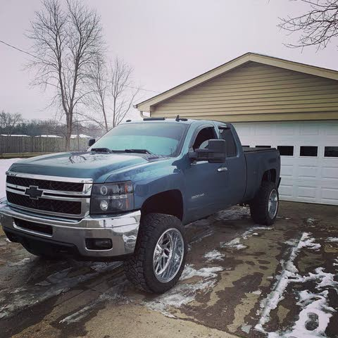 Picture of 2013 Chevrolet Silverado 2500HD LT Extended Cab 4WD, exterior, gallery_worthy
