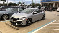 Picture of 2018 Honda Civic Coupe Si with Summer Tires, exterior, gallery_worthy