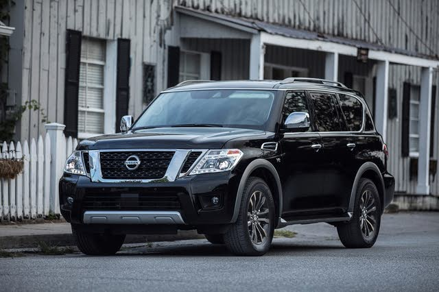 Picture of 2018 Nissan Armada Platinum 4WD, exterior, gallery_worthy