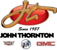 John Thornton Cadillac Buick GMC logo