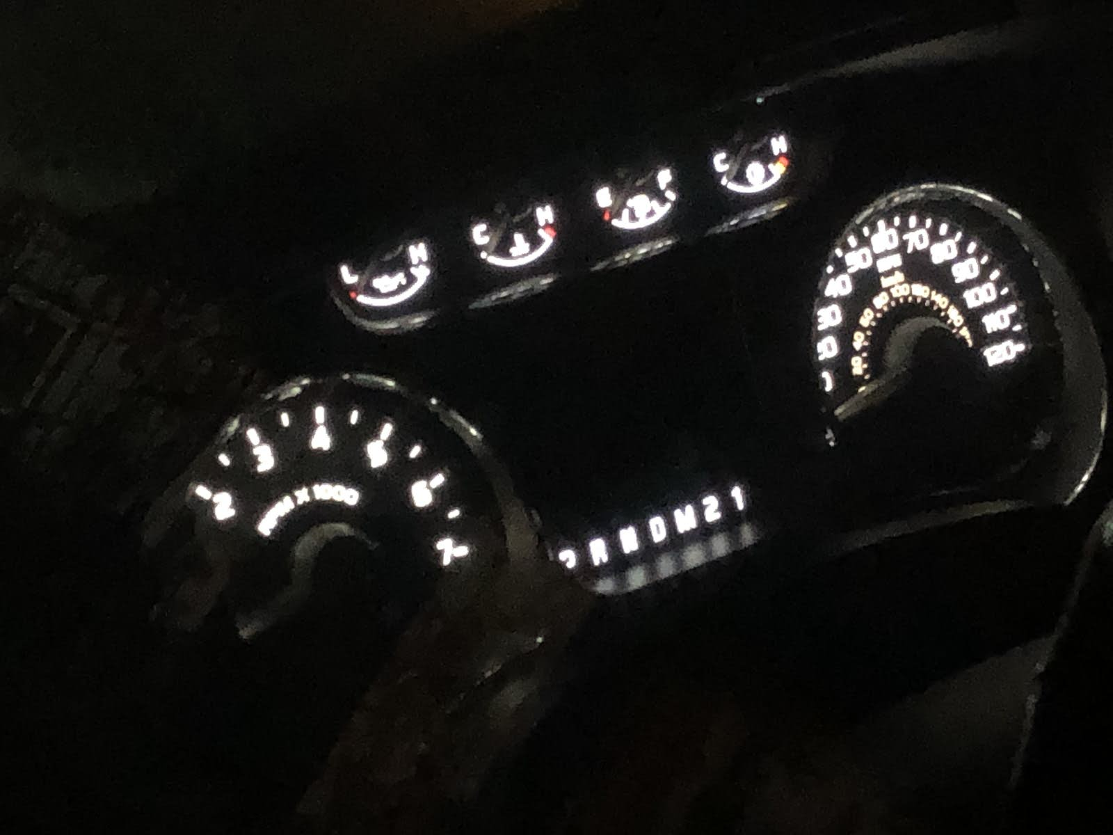 Ford F-150 Questions - Ford F150 Dash/Gauge/Cluster Lights coming on