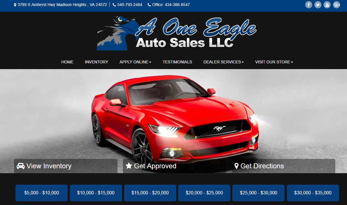 eagle auto sales llc madison heights va read consumer reviews browse