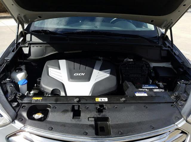 Picture of 2016 Hyundai Santa Fe SE FWD, engine, gallery_worthy