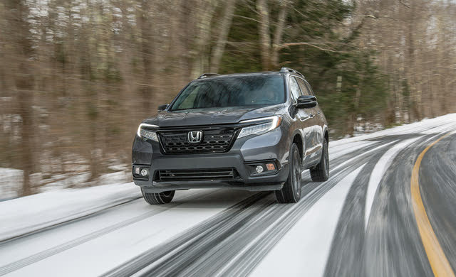 2019 Honda Passport Driving