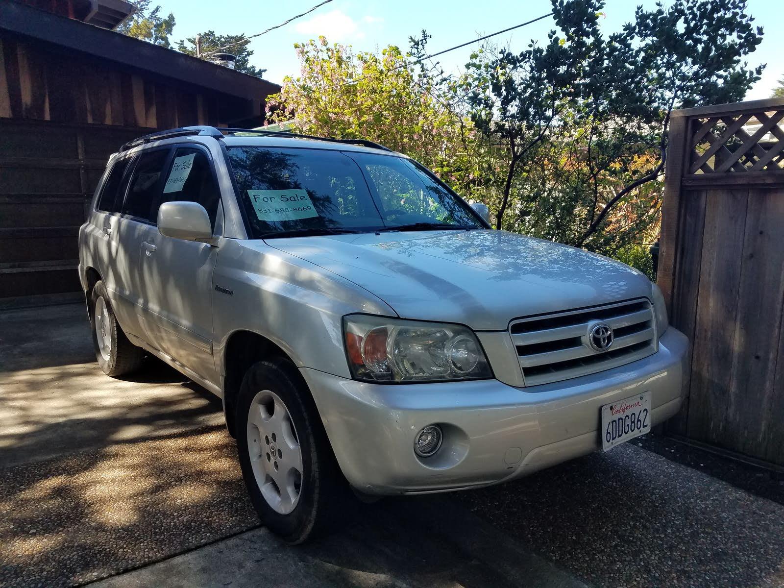 Toyota Highlander Questions - craigslist help - CarGurus