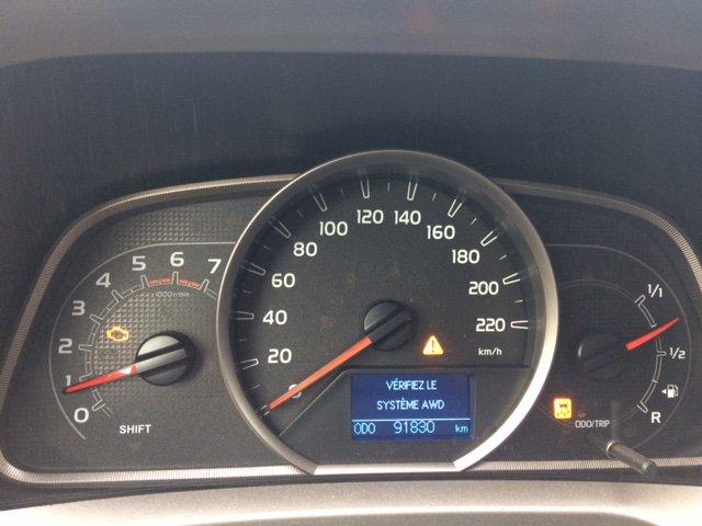 Toyota RAV4 Questions - AWD light on - CarGurus