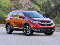 2019 Honda CR-V Touring AWD, 2019 Honda CR-V Touring in Molten Lava, exterior, gallery_worthy