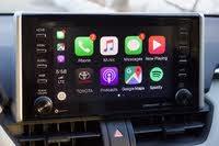 CarPlay display of the 2019 Toyota RAV4., interior, gallery_worthy