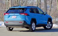 Rear 3/4 of the 2019 Toyota RAV4., gallery_worthy