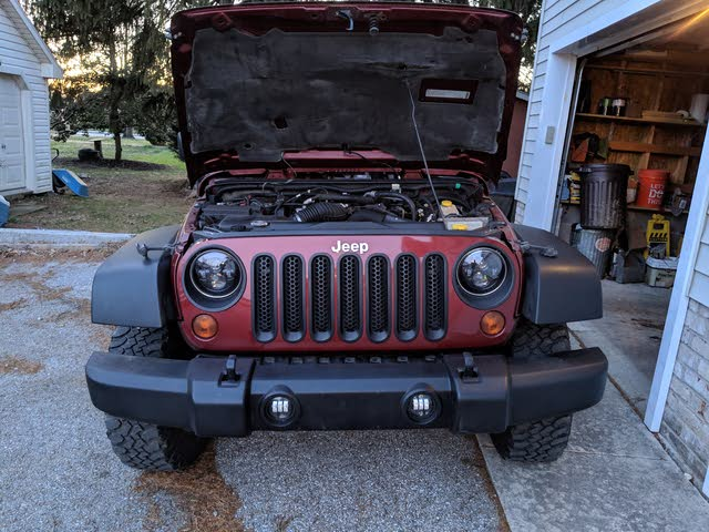 Picture of 2009 Jeep Wrangler Rubicon, engine, gallery_worthy