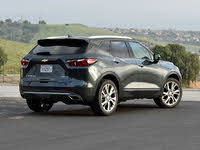 2019 Chevrolet Blazer Premier AWD, 2019 Chevrolet Blazer Premier in Graphite Metallic, exterior, gallery_worthy