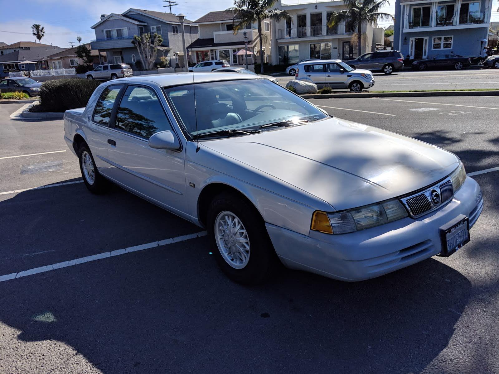1994 mercury cougar test drive review cargurus 1994 mercury cougar test drive review