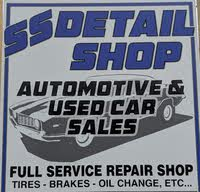 SS Detail Shop Automotive and Used Car Sales logo