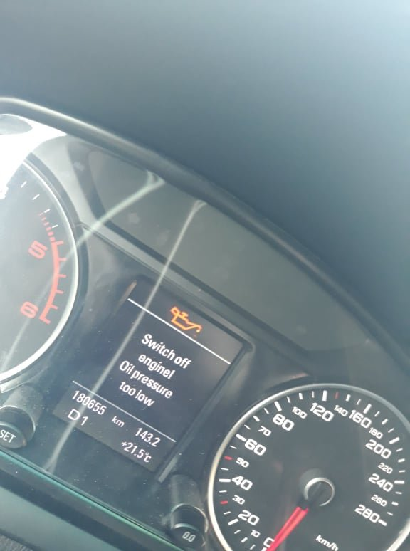 Audi A5 Questions - oil pressure too low/epc light - CarGurus
