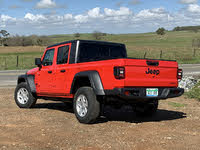 2020 Jeep Gladiator Sport S Red Rear Quarter, exterior, gallery_worthy