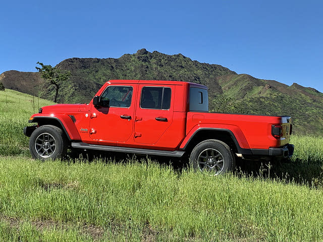 2020 Jeep Gladiator Overland Firecracker Red, exterior, gallery_worthy