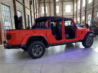 2020 Jeep Gladiator Rubicon Firecracker Red Doors Off Rear Window Off, exterior, gallery_worthy