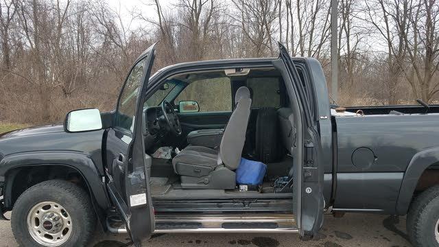 Picture of 2003 GMC Sierra 2500HD SLE 4WD Crew Cab SB HD, interior, gallery_worthy