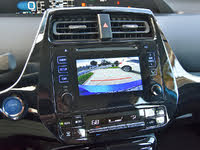 2019 Toyota Prius XLE AWD-e reversing camera, interior, gallery_worthy
