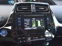 2019 Toyota Prius XLE AWD-e fuel economy monitor, interior, gallery_worthy