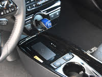 2019 Toyota Prius XLE AWD-e transmission shifter and wireless charging pad, interior, gallery_worthy