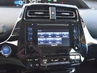 2019 Toyota Prius XLE AWD-e infotainment system main menu, interior, gallery_worthy