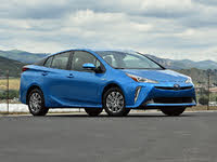 2019 Toyota Prius XLE AWD-e Electric Storm Blue, exterior, gallery_worthy