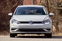 Front profile of the 2019 Volkswagen Golf SportWagen., exterior, gallery_worthy
