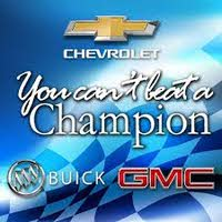 Champion Chevrolet Buick GMC logo
