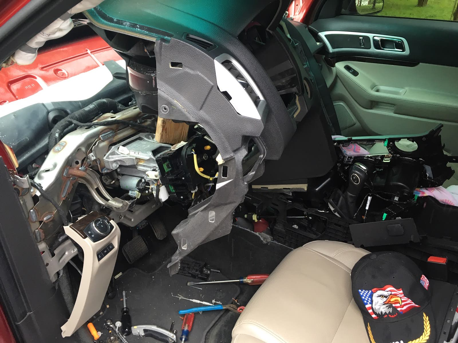 Ford Explorer Questions - 2015 Ford Explorer Limited stuck in
