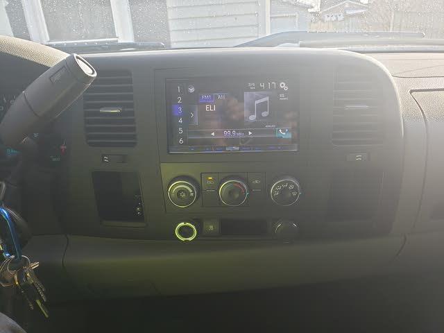 Picture of 2011 Chevrolet Silverado 1500 Work Truck Crew Cab 4WD, interior, gallery_worthy